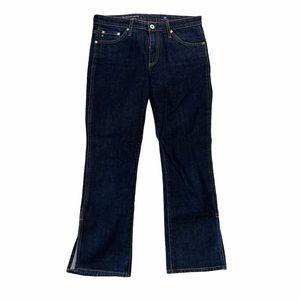 AG Adriano Goldschmied Jodi Crop Side Slit Jeans